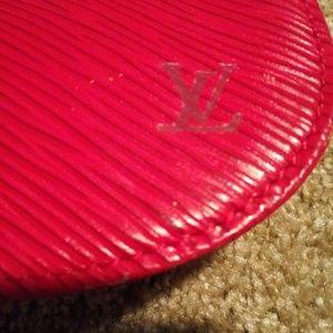 Louis Vuitton Bags - Louis Vuitton Epi red Leather Pochette